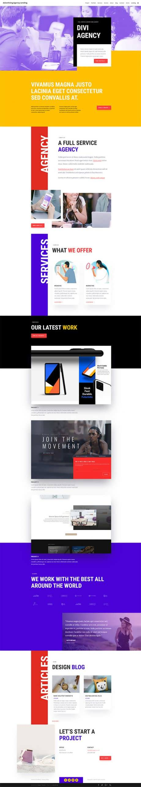 Ads Agency Landing Page scaled