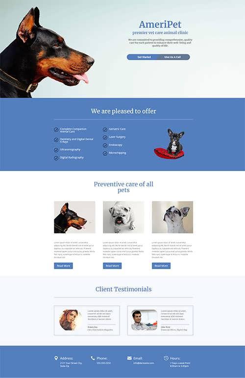 Animal Layout Premium