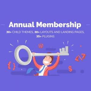 Annual Membership Divi Space