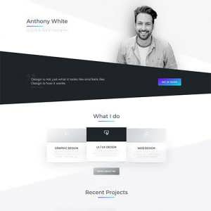 Anthony Free Divi Layout