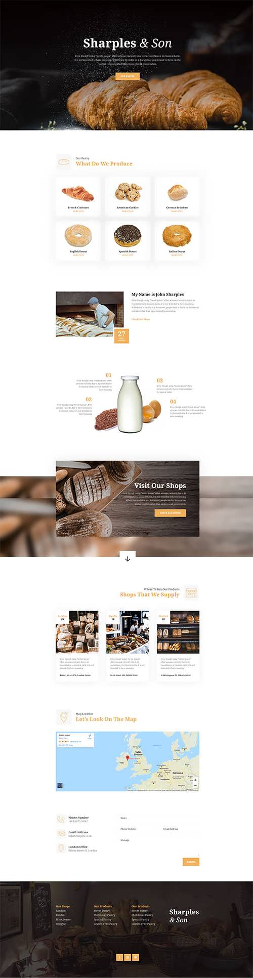 Bakery A Free Divi Layout