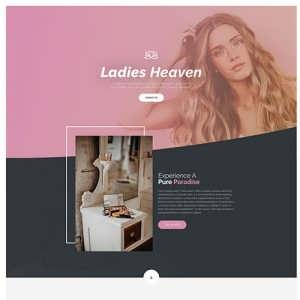 Beauty Salon A Free Divi Layout
