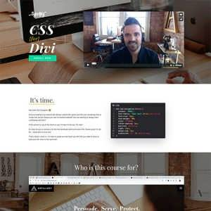 CSS for Divi Course