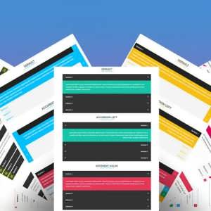 Divi Accordion Bundle