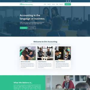 Divi Accounting Child Theme