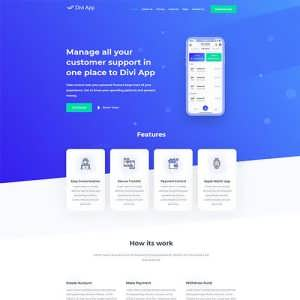 Divi App Child Theme