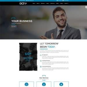 Divi Business Finance Theme