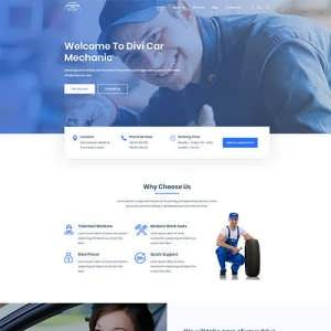 Divi Car Mechanic Child Theme
