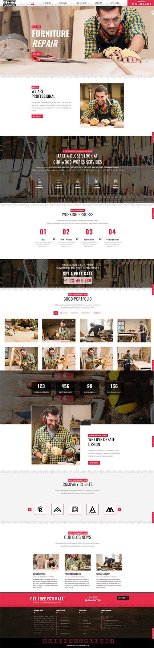 Divi Carpenter Child Theme