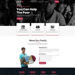 Divi Charity Child Theme