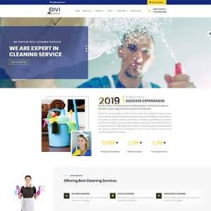 Divi Cleaning Services Theme