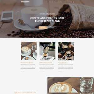 Divi Coffee Child Theme