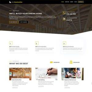 Divi Construction Child Theme