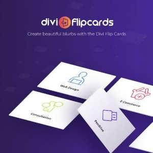 Divi FlipCards