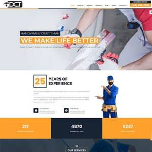 Divi Handyman Services Theme scaled