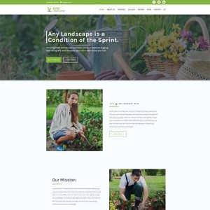 Divi Landscaping Child Theme