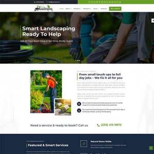 Divi Landscaping Theme