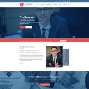 Divi Lawyer Child Theme