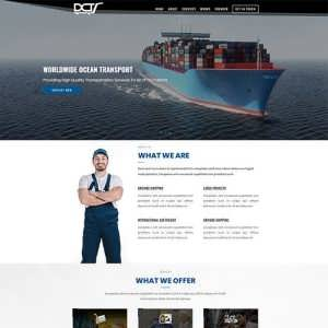 Divi Logistic Theme