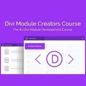 Divi Module Creators Course