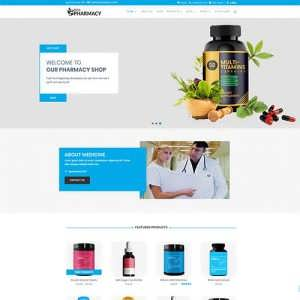 Divi Pharmacy Theme