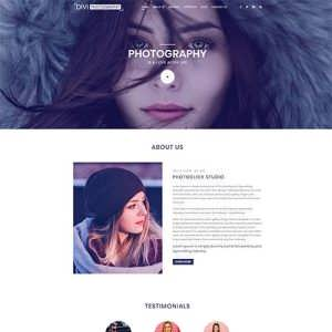 Divi Photography Child Theme