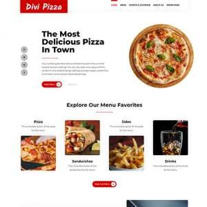 Divi Pizza Child Theme