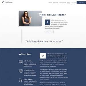 Divi Realtor Child Theme