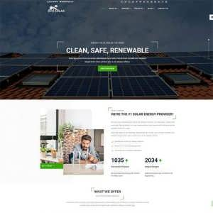 Divi Solar Services Theme