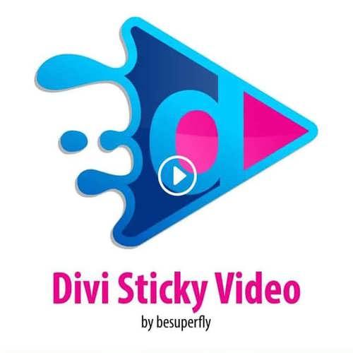 Divi Sticky Videos