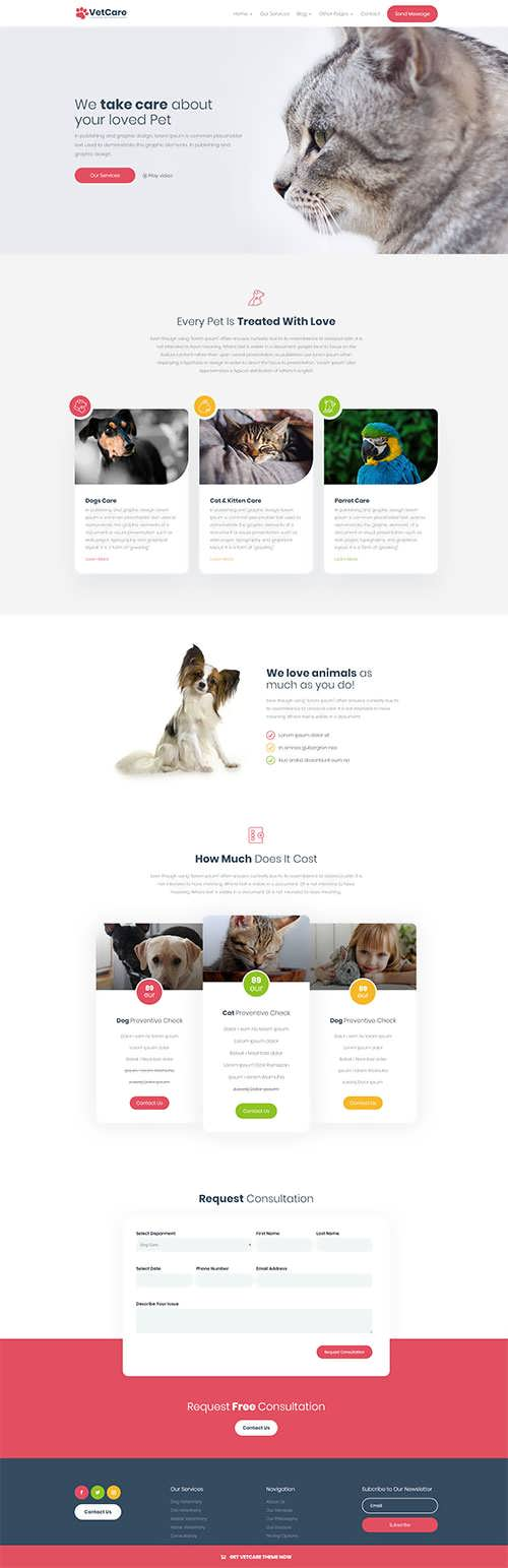 Divi Vet Care Child Theme