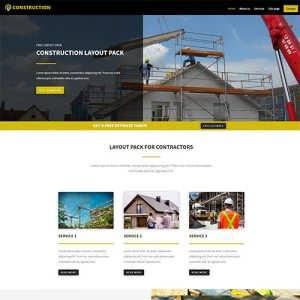 Free Divi Construction Layout
