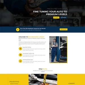 Free Divi Mechanic Layout