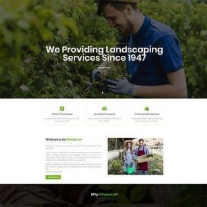 Free Gardener Divi Layout