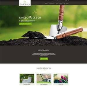 Gardenly Lanscape Divi Theme