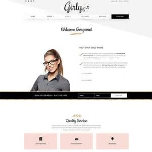 Girly Divi Child Themes