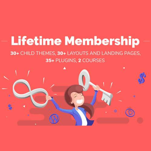 Lifetimel Membership Divi Space