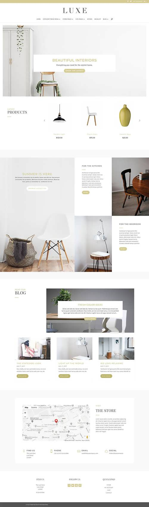 Luxe Commerce Child Theme For Divi