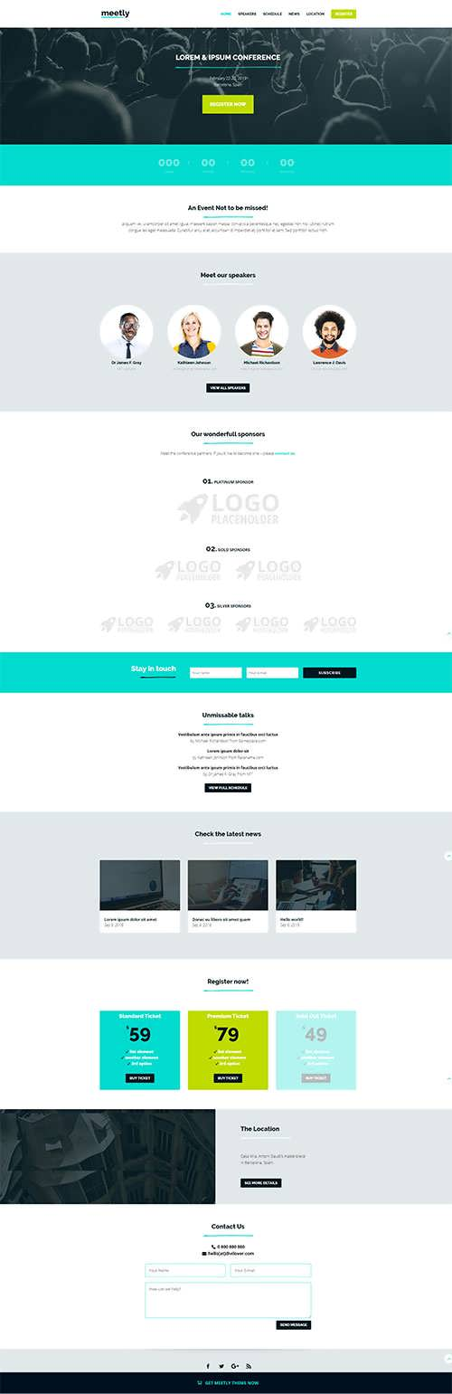Meetly Divi Multipurpose Theme