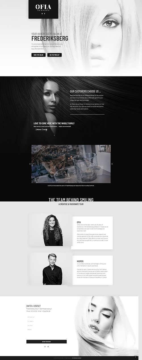 Ofias Fashion Website