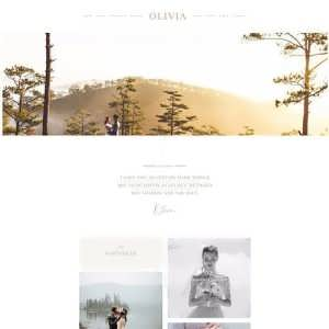 Olivia Child Theme For Divi