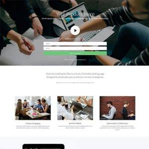 Product Landing Page Layout