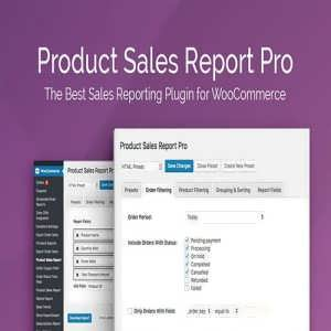 Product Sales Report Divi