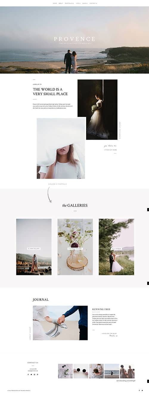 Provence Child Theme For Divi