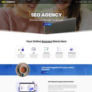 SEO Agency Free Divi Layout