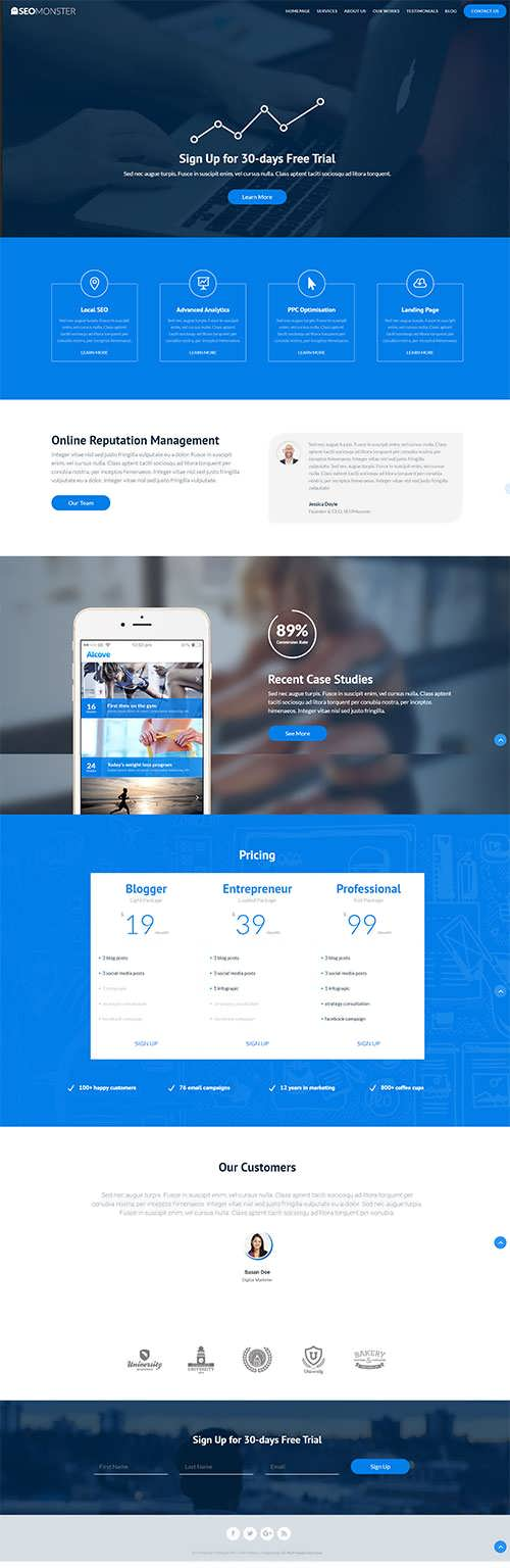 SEO Multipurpose Child Theme
