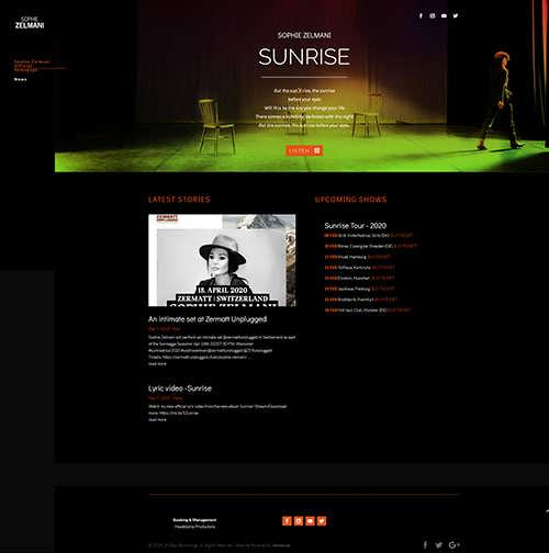 Sophie Zelmani Sunrise