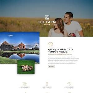 The Farm A Free Divi Layout