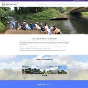 Travel Tourism Divi Example