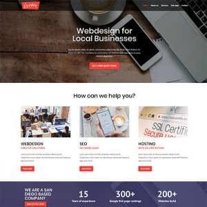 Web Designer Divi Layout Free
